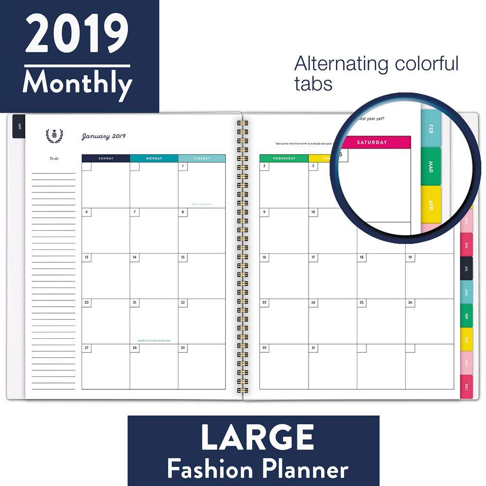 Amazon.com: Planificador semanal y mensual Emily Ley 2019 ...