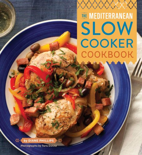 The Mediterranean Slow Cooker Cookbook cover