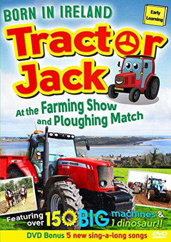 Tractor Jack - At the Farming Show and Ploughing Match (Story 2) Born in Ireland [DVD]