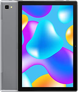 Android 10 Tablet: Blackview Tablet 10.1 inch 3GB+32GB, 6580mAh Battery, 13MP+5MP Dual Cameras, 1920×1200 FHD IPS Display, Otca Core Processor Android Tablet, WiFi Support-Grey