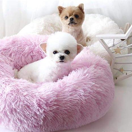 Amazon.com: WSGJHB - Cama redonda para perro, cama para ...