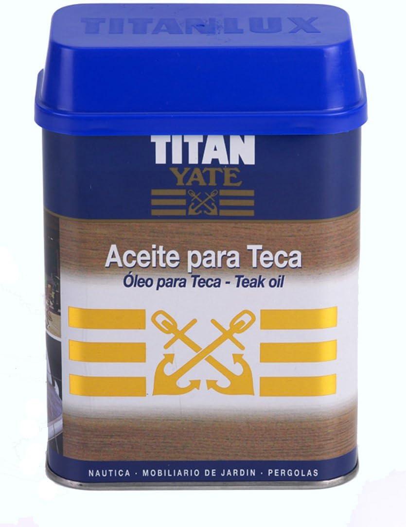 Titan - Aceite Para Teca Titan Yate Teca 750Ml - Envase: 0.75 L ...