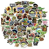 Six Foxes Stickers 72 pcs ,Laptop Stickers Bomb Vinyl Waterproof Stickers Variety Pack for Luggage Computer Skateboard…