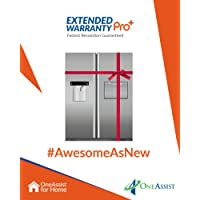 OneAssist 1 Year Extended Warranty Pro Plus plan for Refrigerators Between Rs. 5,000 - Rs. 20,000