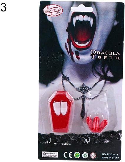 HALLOWEEN VAMPIRE DRACULA COSTUME WITH TEETH ALL SIZES