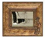 Navika 12x10 Golf Bag Classic Antique Wood Photo Frame - Made to Display 5x7 Photo