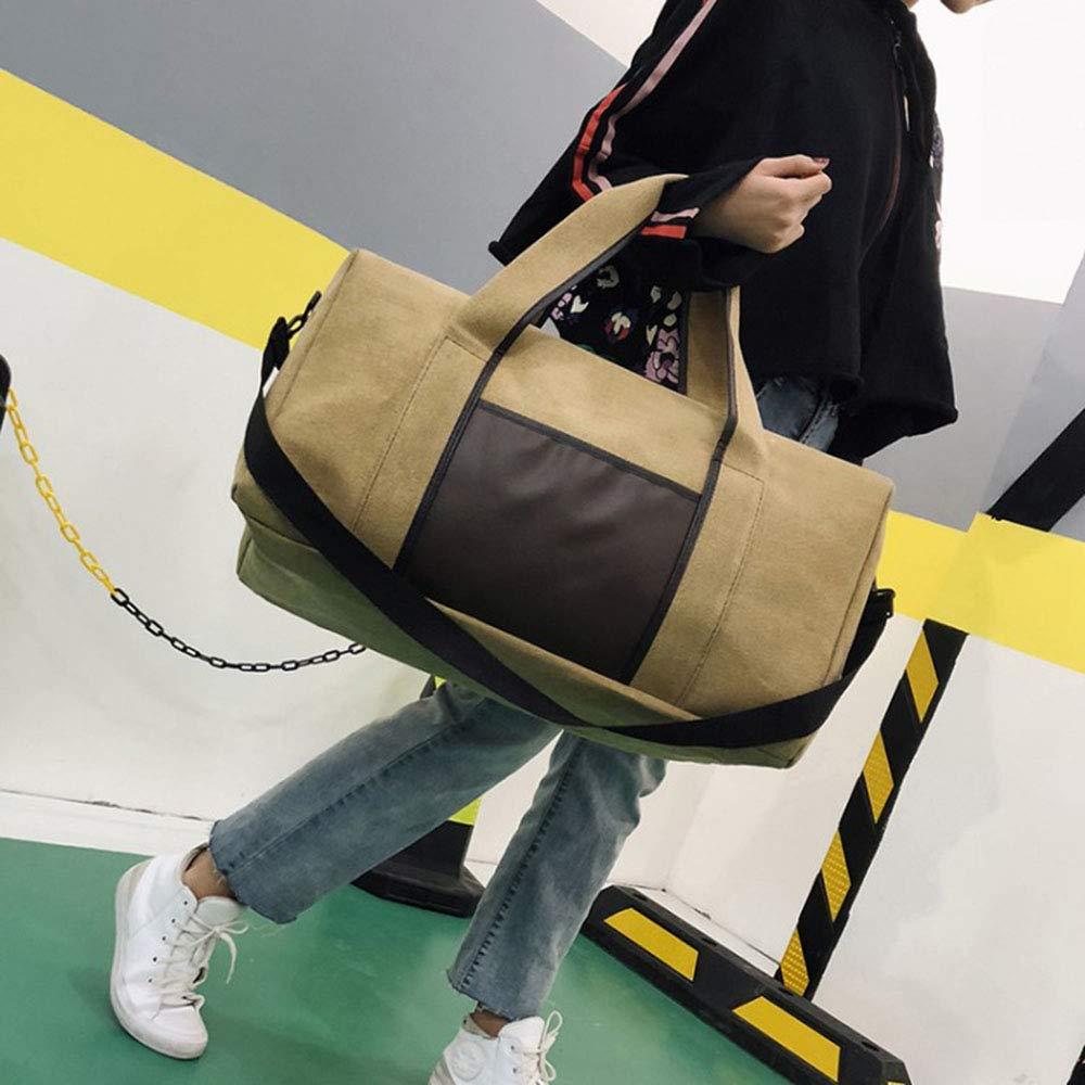 54 X 23 X 33cm Travel Bag GLJJQMY Travel Bag Sports Fitness Bag Luggage Bag Storage Bag Large Capacity Wearable Large Capacity Shoulder Bag