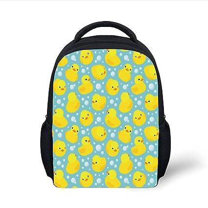 dd593043c9e0 Amazon.com: iPrint Kids School Backpack Nursery,Cute Happy Rubber ...