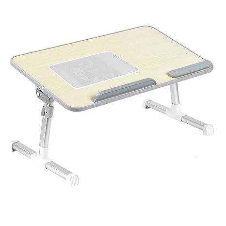 Mesa para cama con sistema de refrigeración, bandeja para ordenador portatil de cama, estante portatil Soporte ...