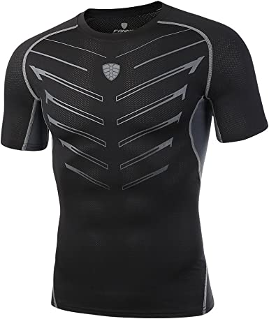 Camiseta Hombre Deportivo Manga Yoga Corta Camiseta Térmica ...