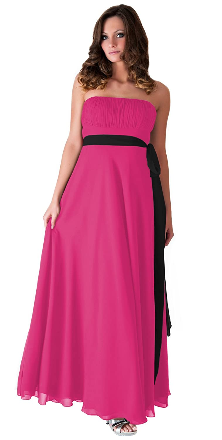 Faship Womens Pleated Bridesmaid Wedding Party Prom Ball Evening Formal Dress