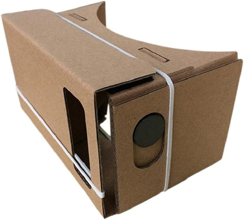 google cardboard vovotrade 6 pulgadas DIY Google cartón 3D VR Realidad Virtual Gafas de madera prensada: Amazon.es: Electrónica