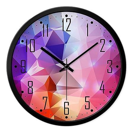 Wall clock Clock, Mute Circular Clock, Large Clock, Living Room ...