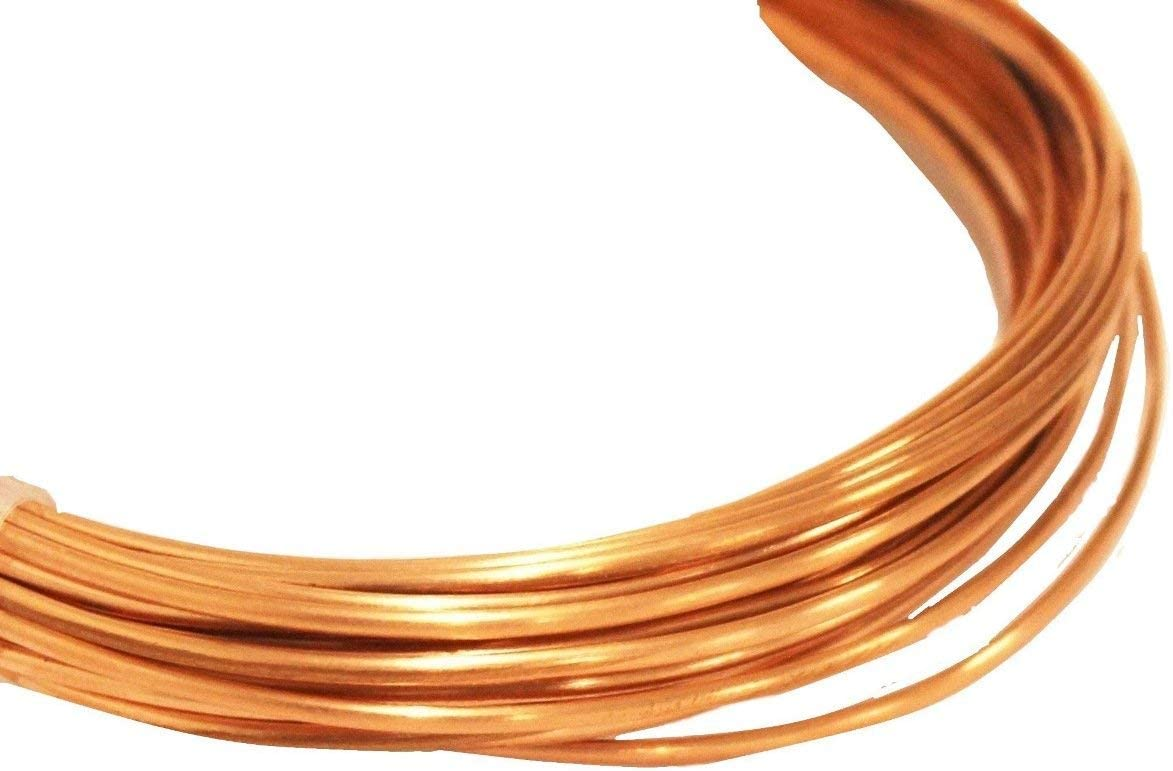 choose Length 99.9/% Pure Copper 14 Ga Square Copper Wire Dead Soft