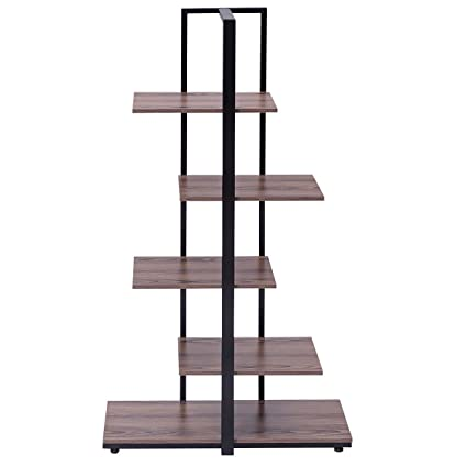 Modern Open Concept Display Etagere Shelf Bookshelf Tower New Bookcase 60quot
