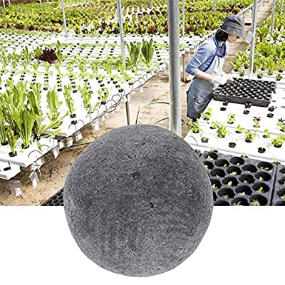 Ceramsite Gardening Decor, MAGT Gardening Ceramsite Drainage Water Purification Ceramsite for Soilless Cultivate/Drainage Layer for Vase Bonsai(Grey) : Garden & Outdoor
