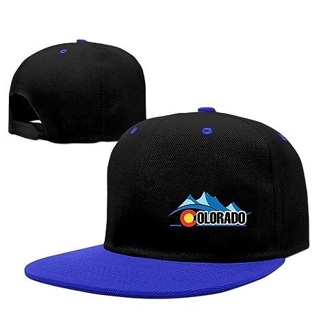 Sdltkhy Gorra de béisbol con Logo de Colorado, Gorra roja Unisex ...