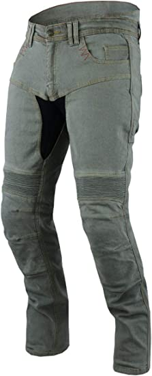 Pantaloni Da Moto In Denim Per Jeans Pantaloni Con Armatura Da 30 A 40 Punti
