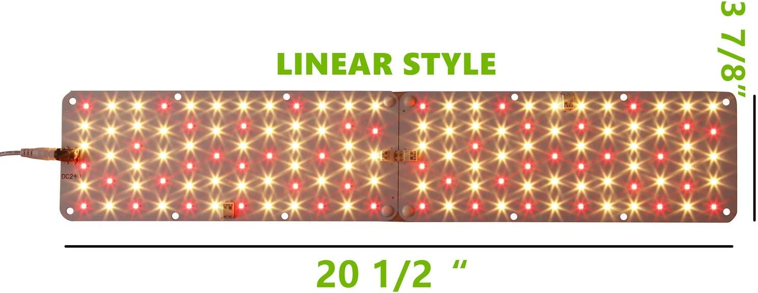 Grow Light Full Spectrum,ACKE Plant Light 20W,Growing Lamp Panel for Indoor Plants/…