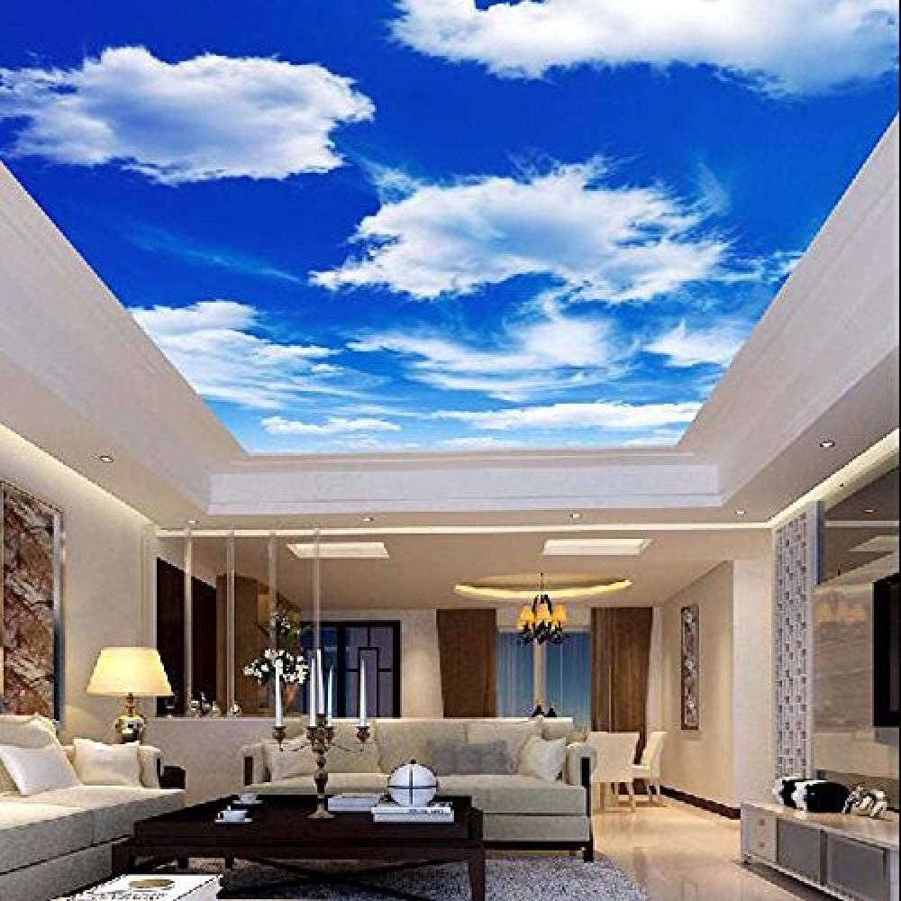 Clear Blue Water Ceiling Wall Mural Wall paper Decal Wall Art Print