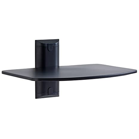 Wondrous Echogear Steel Wall Mounted Av Shelf Supports Up To 15Lbs Of Streaming Devices Game Consoles And Cable Boxes Egav1 Best Image Libraries Sapebelowcountryjoecom