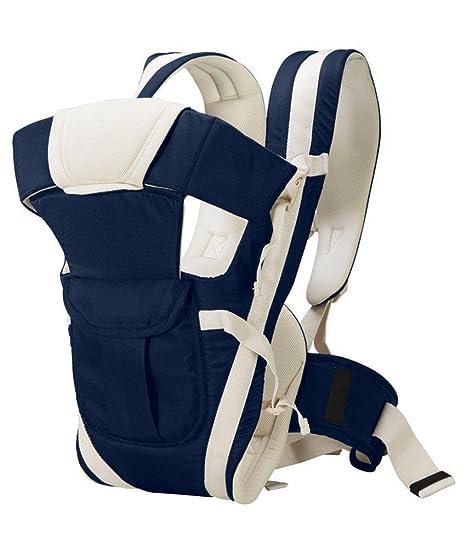 c2a138d2bfb John Richard Adjustable Hands-Free 4-In-1 Baby Carrier Bag (Navy