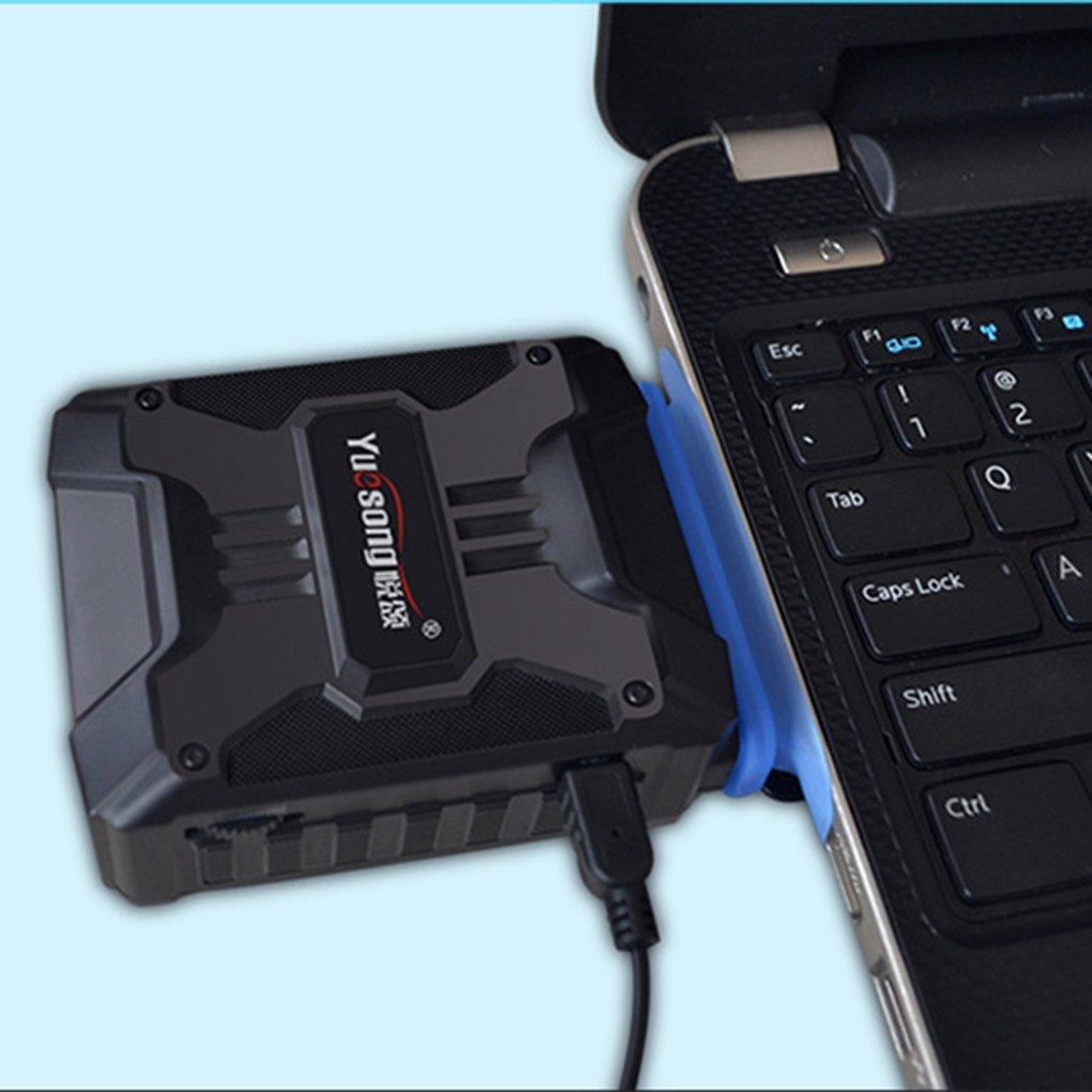Mini ordenador portátil del USB del vacío refrigerador de aire de extracción del ventilador de refrigeración de la CPU Cooler portátil de escape Hardware ...