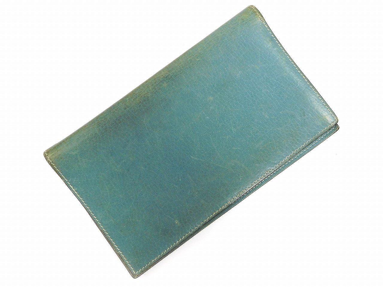 [エルメス] HERMES 手帳カバー ロゴ レザー X4476 中古   B01COLUUNO