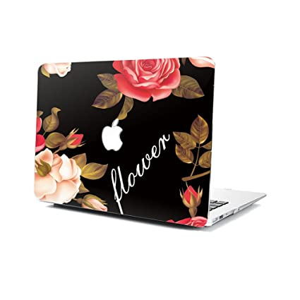 GSPSTORE MacBook Model A1370//A1465 Case,Flower Pattern Hard Shell Protector Cover for MacBook Air 11 Inch Model A1370//A1465#06