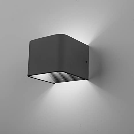 Spacecraft LED Wall Sconce Light, Modern Minimalist Dimmable, UL Listed, 5  Year Warranty