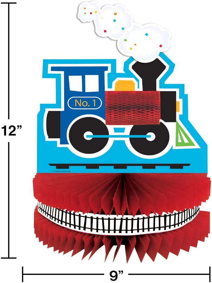Amazon.com: Todos a bordo de tren fiesta de cumpleaños ...