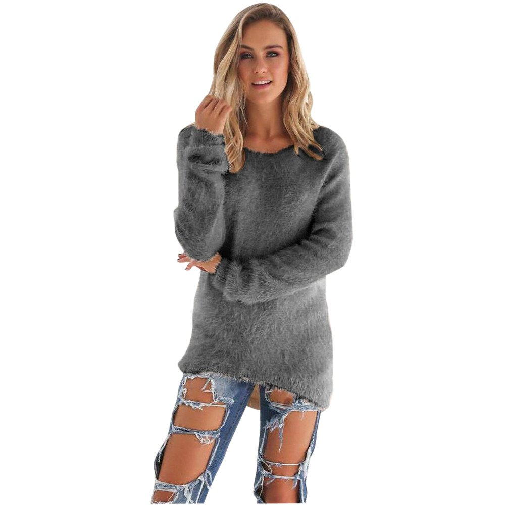 Rovinci_Womens Ladies One Off The Shoulder Sweatshirt Off Shoulder Pullover Chunky Knit Knitted Oversized Solid Color Tunic Sweater Jumper Dress