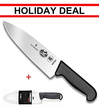 Amazon.com: Victorinox Swiss army, cuchillo de chef de hoja ...
