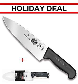 Amazon.com: Victorinox Swiss army, cuchillo de chef de hoja ...