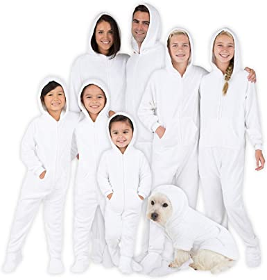 Chenille One Piece Boys Women Pjs and Pets Sweaters Girls Footed Pajamas Men Family Matching Hoodie Onesies
