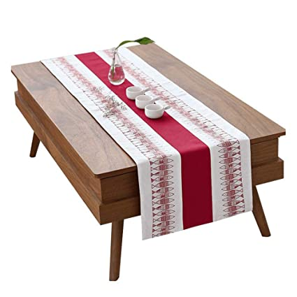 Coffee Table Runner.Amazon Com Jcnfa Table Runner Coffee Table Cover Towel Cotton And
