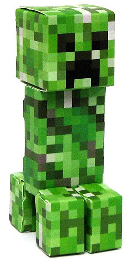 Amazon.com: Jazwares Minecraft Creeper Papercraft [Single Piece]: Toys & Games