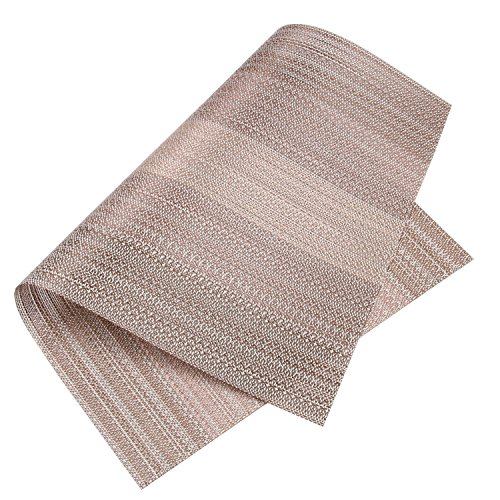 Dining Room Table Placemats: Homcomoda Vinyl Placemats For Dining Table Heat Insulation