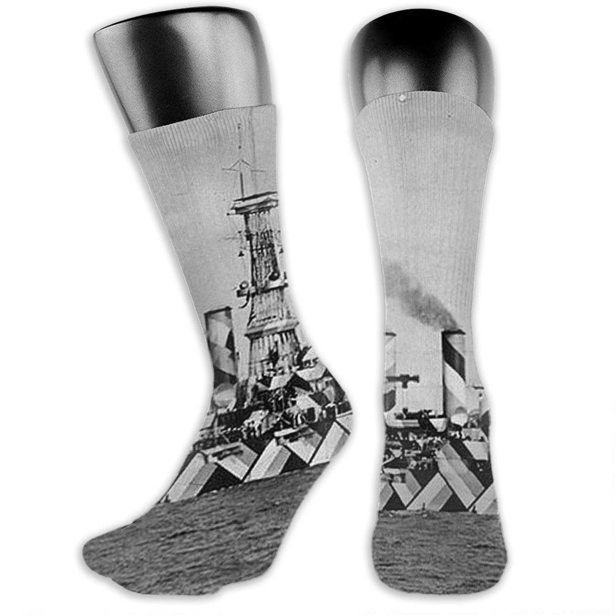 OLGCZM Camouflage Disruptive Pattern Men Womens Thin High Ankle Casual Socks Fit Outdoor Hiking Trail