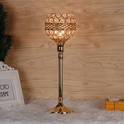 Admirable Amazon Com Capsa Crystal Candle Holders Tall Tealight Interior Design Ideas Inesswwsoteloinfo