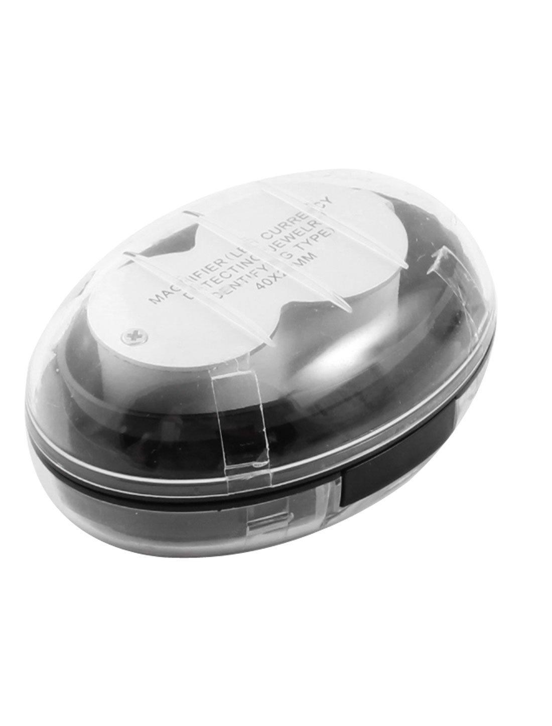 Amazon.com: eDealMax detección de la moneda plegable Lupa Lupa 40X 25mm 3 DE luz LED: Health & Personal Care