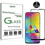 RKINC Protector de Pantalla para Samsung Galaxy M20, [2 Pack] Curvado 2.5D Pantalla Completa Cobertura Cristal Templado…