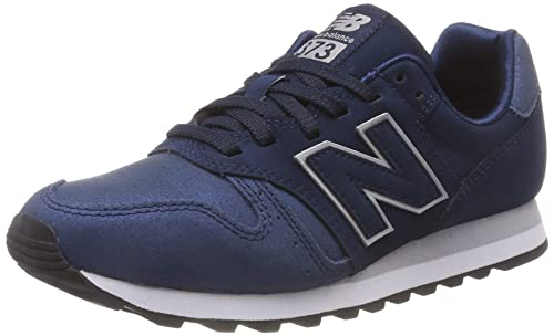 deb3e382a62b2 New Balance Women's 373 Trainers, Blue (Navy/Silver Ns), 3.5 UK