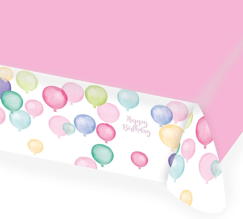 Color 9903734 amscan 3 serpentinas Happy Birthday Pastel