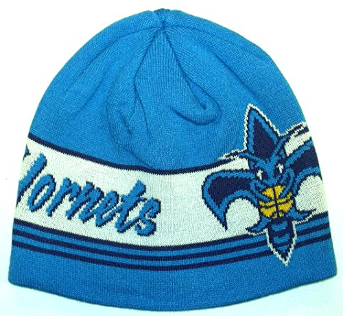 New Orleans Hornets Cuffless Adidas Knit Hat - Osfa