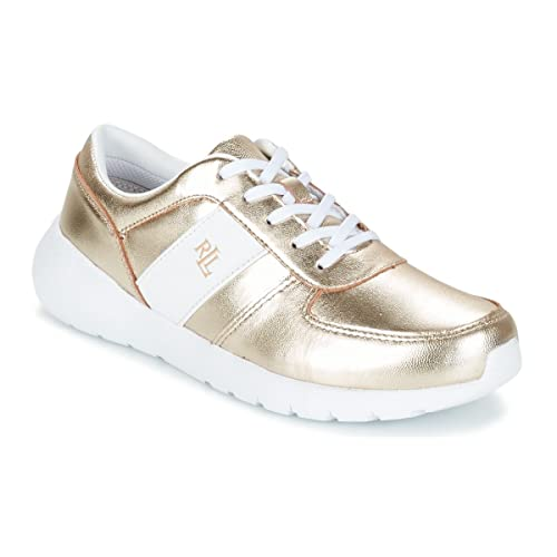 Zapatillas Polo Ralph Lauren Jay - Color - dorado, Talla - 39: Amazon.es: Zapatos y complementos
