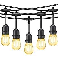 MINGER 48Ft LED Outdoor String Lights