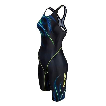 innovatives Design bester Platz wie man bestellt ZAOSU Wettkampf-Schwimmanzug Z-Fire III - Badeanzug mit Bein für Damen und  Mädchen