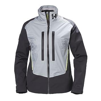 Helly Hansen W Aegir H2Flow Jacke Jacket, Damen, Grau ( XS 820 Silbergrau