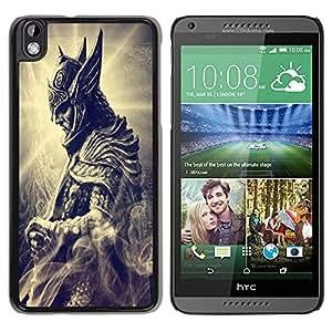 Popular HTC Desire 816 Case ,Beautiful And Unique Designed With skyrim 04 Black HTC Desire 816 Cover